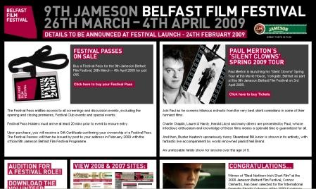 Jameson Belfast Film Festival 2009