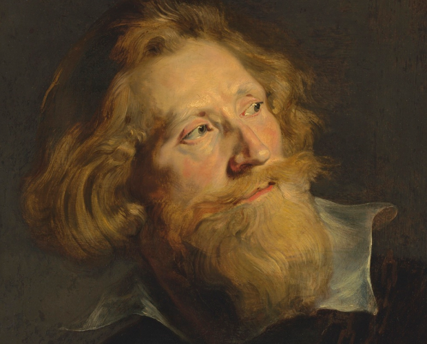 Portrait of a bearded man, Peter Paul Rubens (1577-1640)
